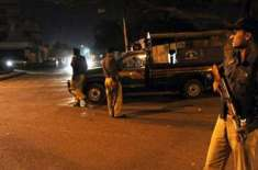 کراچی میں پولیس مقابلہ ، پانچ ڈاکو ہلاک