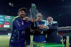 کوئٹہ گلیڈیٹر کی ٹیم کامیابی کا جشن یوم پاکستان کے موقع پر23 مارچ کو ..