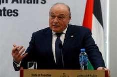 فلسطینوں کو ڈالر نہیں آزادی چاہیے،شکری بشارا
