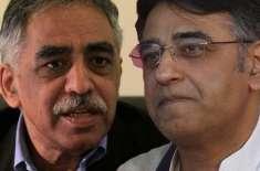 اسد عمر سیاست جاری رکھیں . نون لیگی راہنما محمد زبیر کا بھائی کو مشورہ