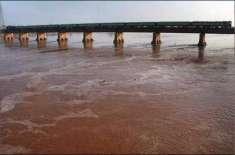آبی ذخائر میں پانی کی صورتحال