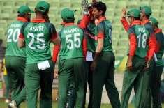 بنگلہ دیش سے بقیہ میچوں سے قبل قومی ٹیم کے کھلاڑیوں میں تین روزہ پریکٹس ..