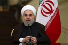 تہران نے امریکا سے مذاکرات کے دروازے بند نہیں کیے . صدر روحانی