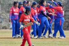 ساﺅتھ ایشین گیمز میں مالدیپ کی خواتین کرکٹ ٹیم 8 رنز پر ڈھیر