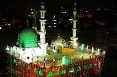 ربیع الاول کا جلوس صبح 9بجے جامع مسجد حامد علی شاہ سے شروع ہو گا ،تمام ..
