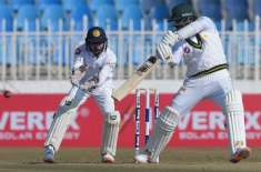 Rawalpindi test results sure to end Pakistan's batting continues in response to Sri Lanka's 308