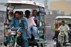ٹریفک پولیس کی نا اہلی شہر کے تمام مصروف بازار موٹر سائیکل رکشہ جات ..