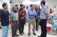 حکومت پنجاب کے ویژن کے مطابق ڈی ایچ کیو جہلم کو ماڈل ہسپتال بنانے کیلئے ..