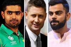 babar azam is virat kohli of pakistan: michael clarke