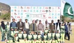 پی ٹی سی ایل نیپال اور پاکستان بلائنڈ وومن کرکٹ سریز کا ا سپانسر