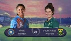 بھارت اور جنوبی افریقا ویمنز کے درمیان تیسرا ٹی 20 انٹرنیشنل کرکٹ میچ ..