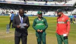 ورلڈکپ 2019ء، پاکستان نے بنگلہ دیش کیخلاف ٹاس جیت لیا