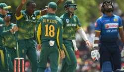 جنوبی افریقہ اور سری لنکا کے درمیان چوتھا ون ڈے میچ کل کھیلا جائیگا