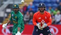 پاکستان اور انگلینڈ کے درمیان پانچ ون ڈے میچوں کی سیریز کا چوتھا میچ ..