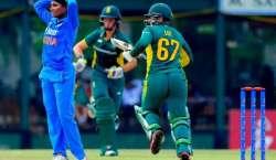 بھارت اور جنوبی افریقہ کی ویمن ٹیموں کے درمیان چوتھا ٹی ٹونٹی کرکٹ ..