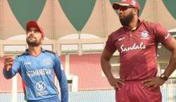 افغانستان اور ویسٹ انڈیز کے درمیان پہلا ٹی ٹونٹی کرکٹ میچ کل کھیلا ..