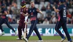 ویسٹ انڈیز اور انگلینڈ کی ٹیموں کے درمیان پانچواں اور آخری ون ڈے انٹرنیشنل ..