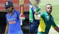 بھارت اور جنوبی افریقہ اے کی کرکٹ ٹیموں کے درمیان دوسرا ون ڈے میچ کل ..