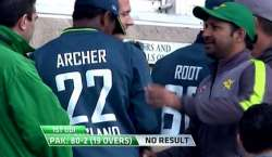 پاکستان اور انگلینڈ کا پہلا ون ڈے بارش کی نذر ہوگیا