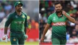 واں ورلڈ کپ، پاکستانی ٹیم آخری لیگ میچ میں کل بنگلہ دیش کے مدمقابل ..