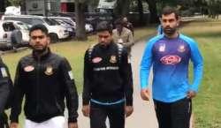 بنگلہ دیش کرکٹ ٹیم نیوزی لینڈ سے وطن واپس روانہ