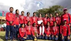 نیپال کی ویمنزبلائنڈ کرکٹ ٹیم انٹرنیشنل ٹی ٹونٹی کرکٹ سیریزمیں شرکت ..