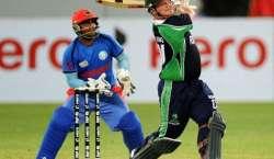 آئر لینڈ اور افغانستان کی کرکٹ ٹیموں کے درمیان پانچ ایک روزہ بین الاقوامی ..