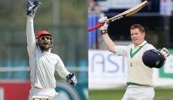 افغانستان اور آئرلینڈ کی کرکٹ ٹیموں کے درمیان واحد ٹیسٹ میچ 15 مارچ ..