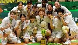 جاپان نے ویمنز باسکٹ بال ایشیا کپ ٹورنامنٹ جیت لیا، ٹائٹل کا بھرپور ..