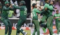پاکستان کوسیمی فائنل میں پہنچنے کیلئے بنگلہ دیش کی ٹیم کو 311رنز سے شکست ..