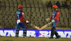 7 گیندوں پر لگاتار 7 چھکے ، افغان کرکٹرز نے نئی تاریخ رقم کردی