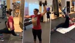ثانیہ مرزا نے4ماہ میں 26 کلو وزن کم کرلیا، ویڈیو وائرل