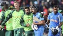جنوبی افریقن کرکٹ ٹیم پرسوں پہلے ٹی ٹونٹی انٹرنیشنل میچ سے دورہ بھارت ..
