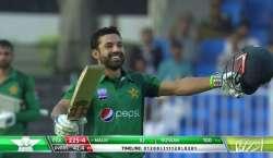دوسرا ون ڈے ، پاکستان نے آسٹریلیا کو جیت کے لیے 285رنز کا ہدف دیدیا