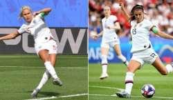 ویمن فٹبال ورلڈ کپ،انگلینڈ او ر امریکا کی ٹیمیں سیمی فائنل میں پہنچ ..