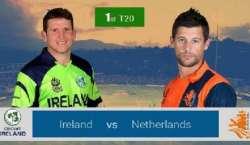 آئرلینڈ، سکاٹ لینڈ اور ہالینڈ کی ٹیموں کے درمیان سہ ملکی ٹی ٹونٹی ..