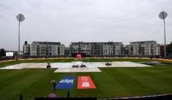 لندن میں فائنل میچ سے پہلے بارش،اگلے 2گھنٹے تک بارش جاری رہنے کا امکان