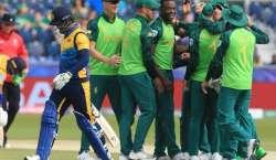ورلڈ کپ ، سری لنکا نے جنوبی افریقہ کو جیت کے لیے 204رنز کا ہدف دیدیا