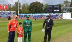 واحد ٹی ٹونٹی ، پاکستان نے انگلینڈ کیخلاف ٹاس جیت لیا