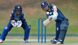 سری لنکا اور انگلینڈ کے درمیان آئی سی سی ویمن چمپئن شپ کا تیسرامیچ ..