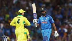 ْآسٹریلیا اور بھارت کی کرکٹ ٹیموں کے درمیان ایک روزہ سیریز کا پہلا ..
