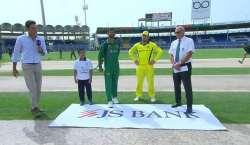 دوسراون ڈے، پاکستان نے آسٹریلیاکیخلاف ٹاس جیت لیا