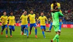 کوپا امریکہ فٹ بال کپ، میزبان برازیل کی ٹیم فائنل میں پہنچ گئی
