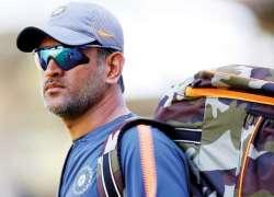 ٹیم نے زیادہ بھارتی فوج کی رجمنٹ اہم،مہندرا سنگھ دھونی کا سلیکٹرز کو ..