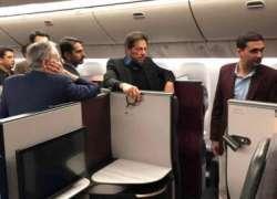 وزیراعظم عمران خان نے ائیر فورس کے طیارے کی بجائے قطر ائیرویز کی کمرشل ..