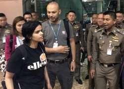 سعودی لڑکی رھف کا فرار ہونے کے بعد پہلا انٹرویو منظر عام پر آگیا