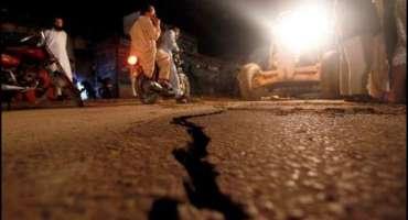 بلوچستان میں زلزے کے جھٹکے، لوگوں میں خوف و ہراس بھیل گیا