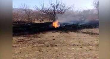 مستونگ میں پاک فضائیہ کا طیارہ گر کر تباہ، پائلٹ شہید