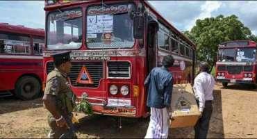 سری لنکا میںمسلم ووٹرز کی بسوں پر فائرنگ