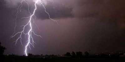 کرم کے مختلف علاقوں میں شدید بارشوں کے باعث کچے مکانات کی چھتیں گرنے ..